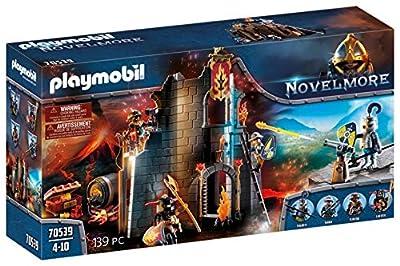 PLAYMOBIL Novelmore 70539 Burnham Raiders Feuerruine, Für Kinder von 5-10