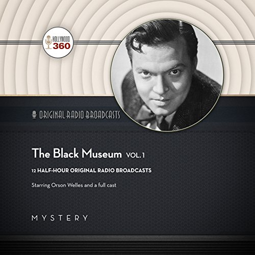 The Black Museum, Vol. 1 audiobook cover art