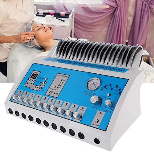 QINMH Multifunktion EMS Vakuum Brust Erweiterung Instrument Tens Elektrisch Impuls Meridian Physiotherapie Körper Abnehmen Gestaltung Massagegerät Muskel Stimulation Spa Schönheit Gerät