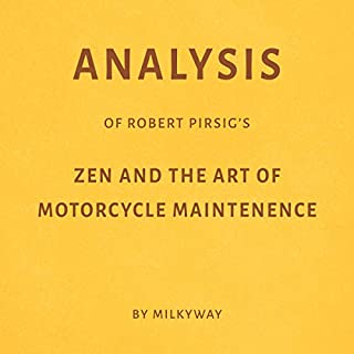Analysis of Robert Pirsig's Zen and the Art of Motorcycle Maintenance cover art