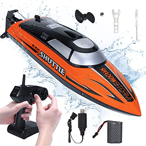 High Speed RC Boat Remote Control Boat for Pools and Lakes Gifts Fast Toy...