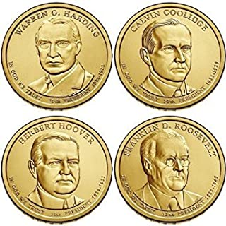 2014 P Presidential Dollar Set (4 Coins) Uncirculated