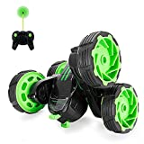 RC Cars Off-Road, 4WD Remote Control Car Rotate 360 Double Sided Stunt Monster