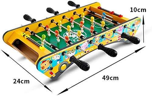 6-bar animal de la historieta autobús de escritorio de fútbol Juego de niños entre padres e hijos de Ocio Interactivo Juguetes Niños y Niñas Puzzle coordinación mano-ojo Formación mesa de futbolín don: