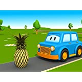 The Clever Cars Learn about Fruit!