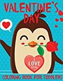 Valentine's Day Coloring Book for Toddlers: A Fun Valentine's Day Coloring Book of Hearts, Cherubs,...