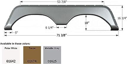 ICON 01642 Tandem Axle Fender Skirt FS771 for Jayco - Polar White