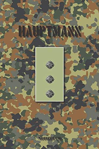 Hauptmann: Kariertes Notizbuch / Tagebuch kariert   15,24 x 22,86 cm (ca. DIN A5)   120 Seiten