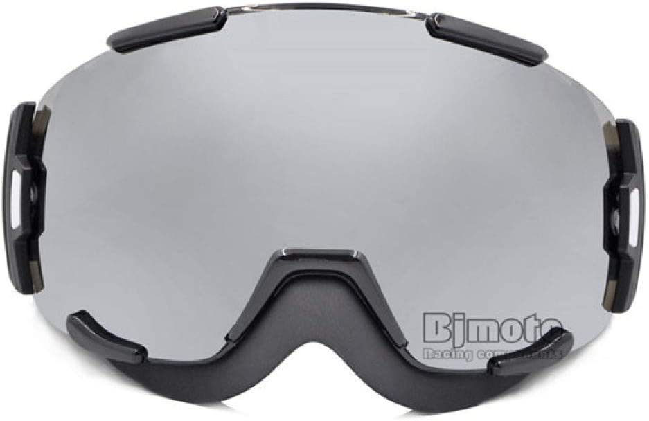 DYHXMJ 2019 Nueva Lente Dual Unisex Protección UV Anti-vaho Esquí en la Nieve Gafas de esquí Gafas Snowboard Snowboard para Pit drit Bike