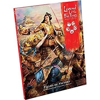 Toy Legend of The Five Rings Roleplaying: Fields of Victory Roleplaying Game for Teens and Adults Ages 14+ for 2 to 6 Players Average Playtime 3 - 4 Hours Made by Edge Studio (L5R14) Book