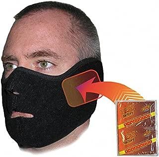 Heat Factory Heated Face Mask, Black, Universal
