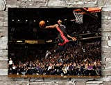 Lebron James Miami Heat Poster Standardgröße | 45,7 x 61