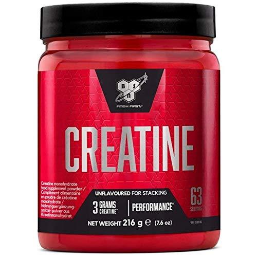 Creatine DNA 216g | Creatine Monohydrate | Muscle Mass Development | Bodybuilding Food Supplement