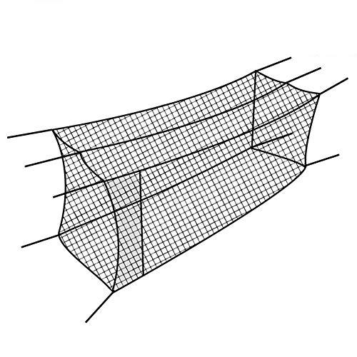 Cimarron Sports Heavy-Duty Extra-Strength Twisted Rubber Baseball/Softball Training Batting Cage Net, 30 x 12 x 10 Feet