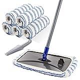 Best Wood Floor Mops - MASTERTOP Large Microfiber Mop - Microfiber Mop Floor Review