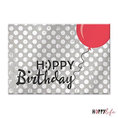 Sheepworld, Happy Life - 44098 - Magnet mit Umschlag Nr. 4, Happy Birthday