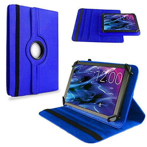 NAUC Medion Lifetab S10351 S10352 Tasche Hülle Tablet Schutzhülle Hülle Schutz Cover, Farben:Blau