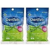 DenTek Easy Brush Fresh Mint Tight Interdental Cleaners, 16 each (Value Pack of 2)