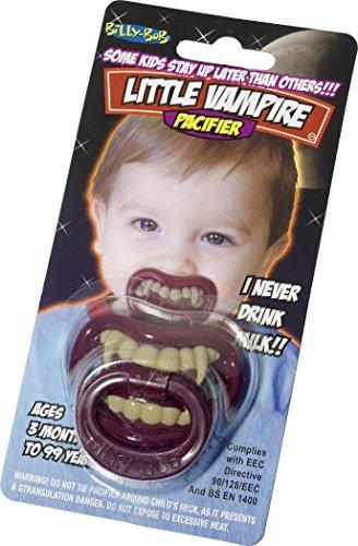Smiffys Billy Bob Pacifiers 90076 Kleine Vampiren lustige Schnuller