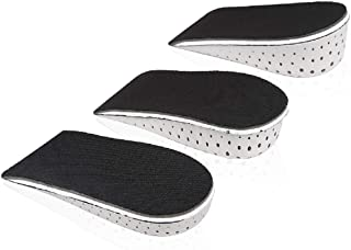 Height Increase Insole Heel Lift Inserts Invisible Half Increased Heel Shoe Lifts for Women-4CM