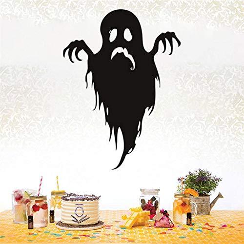 Gelukkig spook grappig monster schreeuw muursticker raamsticker versier kinderkamer <> 61x46cm