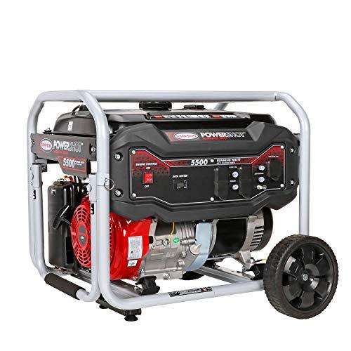 Simpson Cleaning SPG5568 5,500-Watt Portable Gas Generator,...