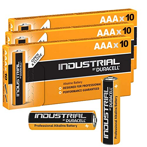 Duracell 30x AAA Industrie Alkaline-Batterie–Orange