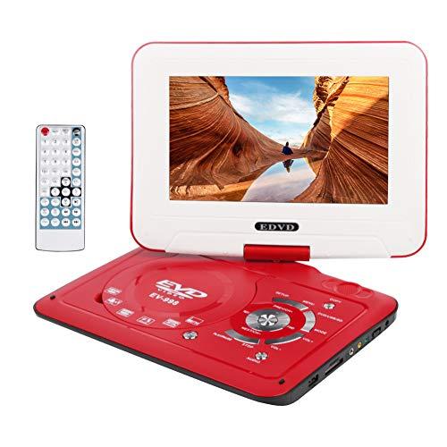"""Wimaha Kompakt DVD Player HDMI Alle Region Frei Unterstützung SD Karte USB Festplatte CD DVD AV-In-Out mit 9\"""" LED Anzeige und Vollfunktions Fernbedienung"""