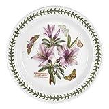 Portmeirion Botanic Garden Rhododendrum Liliiflorum Lily Flowered Azalea 10-in Dinner Plate