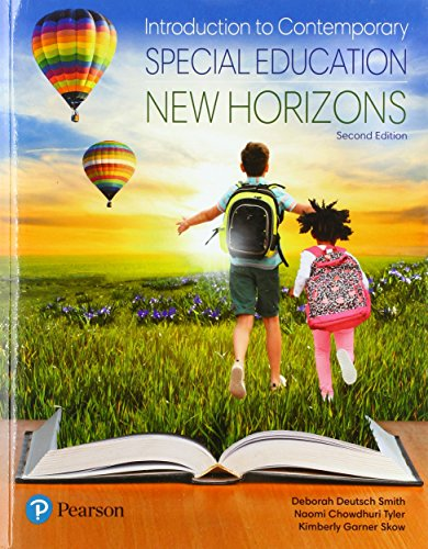 Compare Textbook Prices for Revel for Introduction to Contemporary Special Education: New Horizons -- Access Card Package  What's New in Special Education 2 Edition ISBN 9780134995731 by Smith, Deborah Deutsch,Tyler, Naomi Chowdhuri,Skow, Kimberly