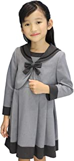 [CHOPIN deux(ショパン ドゥ)] 入学式 女の子 1901-6308 セーラー衿アンサンブル 120 130cm