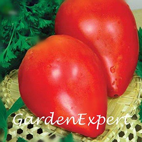 100pcs Heirloom beefsteak Graines Tomate Tomate Volove Sertse Chervonyy Bulls coeur de tomates Semences potagères Graines jardin