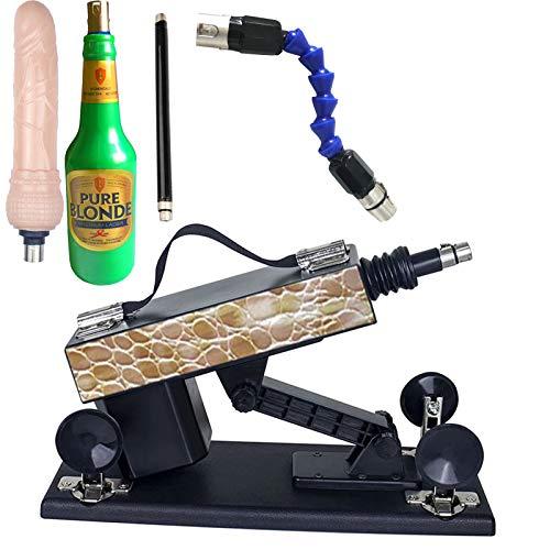 Séx-Maschine Für Männer Und Frauen, Séxy Spielzeug Maschine, Automatische Teleskop-Masturbationspumpe Für Erwachsene Mit Verschiedenem Zubehör C46
