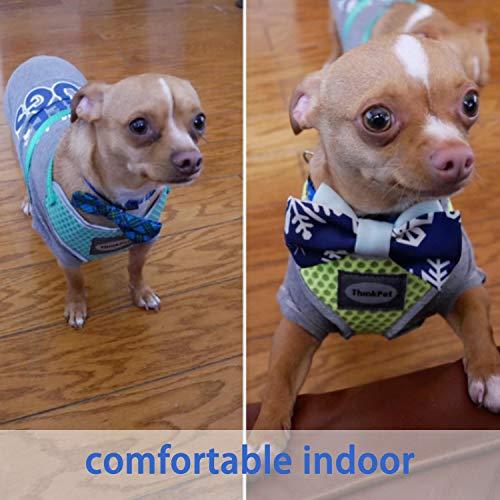ThinkPet No-Pull Hundegeschirr - Atmungsaktiv Vest Geschirr Mesh Brustgeschirr für Hunde, reflektierend Verstellbare Softgeschirr Sicher Kontrolle, Geringes Eigengewicht, Leichtes Anlegen - 2