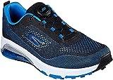 Skechers Air Twist Boa Waterproof - Zapato de Golf para Hombre, Blue/Black (Numeric_42)