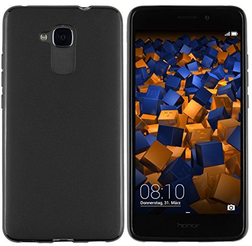mumbi Hülle kompatibel mit Honor 5C Handy Case Handyhülle, schwarz