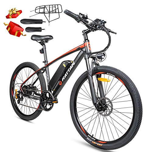 Rattan Electric Mountain Ebikes 48V 350W Electric Bike for Adults 26inch Mountain Bike 48V 10.4Ah Lithium Battery E-Bike Mountain Electric Bicycle