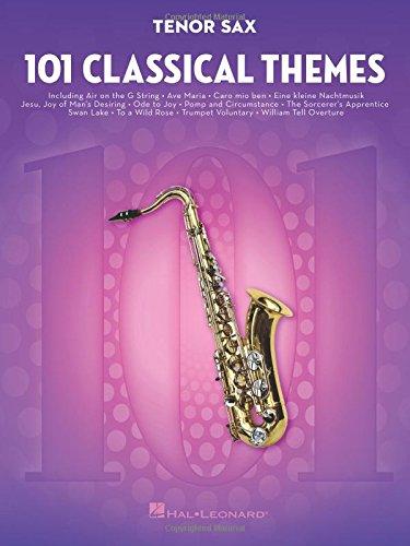 101 Classical Themes -For Tenor Saxophone- (Book): Noten, Sammelband für Tenor-Saxophon