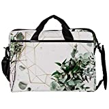 Laptop Bag, Water Resisatant Business Messenger Briefcases for Men and Women Fits Laptop/Tablet,Tree,Green