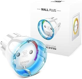 Fibaro FGWPF-102-5 Adaptador Inteligente para Gestión Remota, 230 V, Blanco, 35.0
