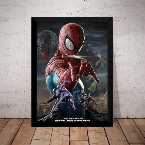 Quadro Decorativo Homem Amazing Aranha Spider Man Hq Arte
