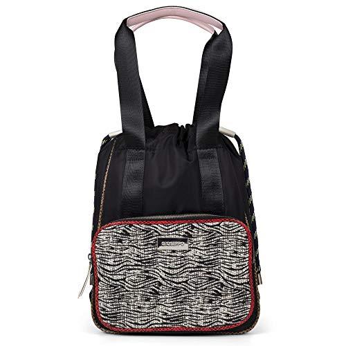 Gioseppo CARNAC, Bolso mochila para Mujer, Negro (Negro), 13x35x27 cm (W x H x L)