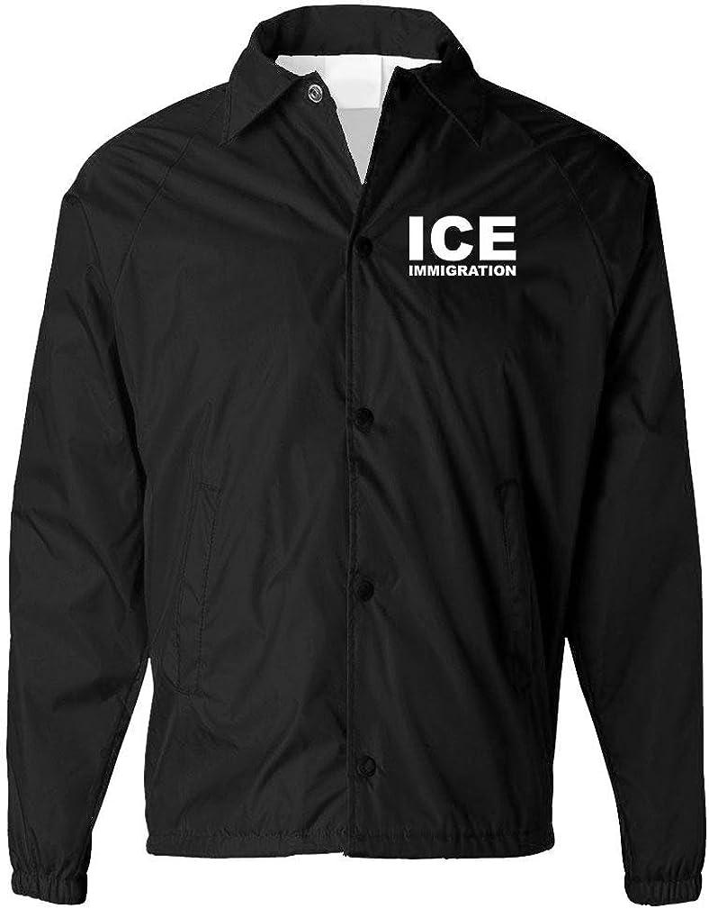 ICE Immigration - Border Patrol Immigrant - Mens Coaches Jacket