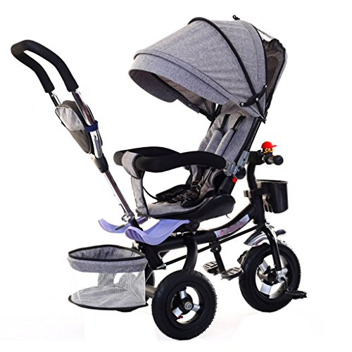 Why Should You Buy Kids' Tricycles Multifunctional Foldable Child Tricycle Kid Trolley Push Handle S...