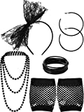 Accessoires de Costume de Déguisements des Années 80 Serre-tête en Dentelle Boucles...