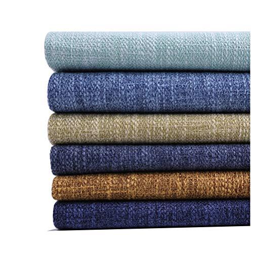Gali DIY Hecho Mano Tejido de Lino 100% Puro Natural, Tela Suave y Duradera, 150 Cm de Ancho, Adecuado para Fundas de Sofá, Cojines, Bolsos, Textiles para el Hogar, Bricolaje (Color : 6)