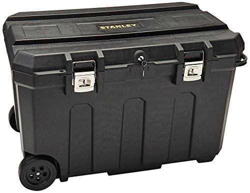 Stanley 037025H 50 Gallon Mobile Chest,Black