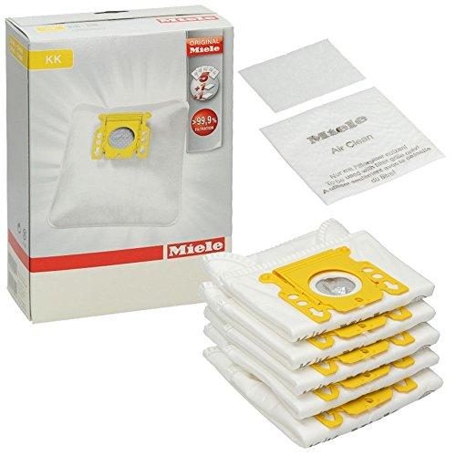 Miele - Kit sacchetti e filtro originali per aspirapolvere HyClean S140 S140I S141 KK (confezione da 5 pezzi)