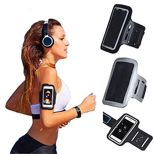 YDZY Prueba de Sudor Brazalete Negro Brazalete for Samsung Galaxy Note 9 8 S6 S7 Edge A8 2018 S8 S9 Plus A5 J7 2017 J5 2016 Arm Band Run Gym Sport Phone Bag Case (Color : For Galaxy s7)
