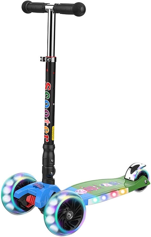comprar mejor Patinetes Scooter para Niños Scooter 2-12 años de de de Edad Un pie Cuatro Ruedas Flash Música Yo Coche Plegable Balance Balance Coche Xuan - Worth Having (Color   C, Talla   Music)  a la venta